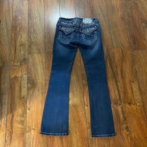 Gorgeous Miss Me signature boot jeans